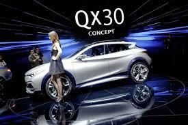 Salón de Ginebra 2015: Infiniti QX30 Concept, una nueva SUV Compacta.