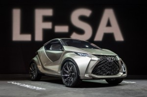 Auto Show de Ginebra 2015: Lexus LF-SA Concept, urbano y compacto.