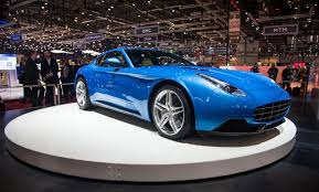 Salón de Ginebra 2015: Touring Superleggera Berlinetta Lusso, un Ferrari F12 bien tratado.