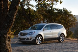 Chevrolet Traverse 2015: innovadora, moderna y refrescante.