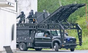 Ford F-550 Monster Truck, un poderoso carro para las fuerzas especiales.