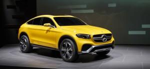 Mercedes-Benz GLC Coupé Concept, así será el rival del BMW X4.