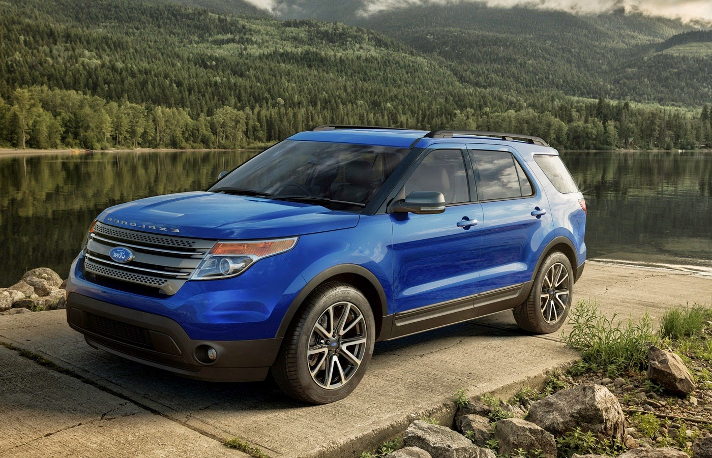 ford explorer 2015 la suv m s vendida en eeuu lista de carros. Black Bedroom Furniture Sets. Home Design Ideas