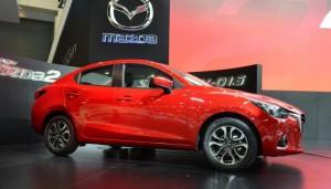 Mazda2 Sedán 2015: atractivo y más moderno.