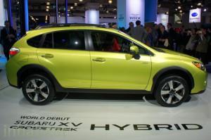 Subaru XV Crosstrek Hybrid 2015: cero emisiones y mucha seguridad.
