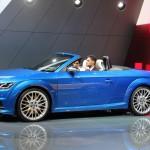 Audi TTS Roadster 2015: diversión, lujo, poder y elegancia.