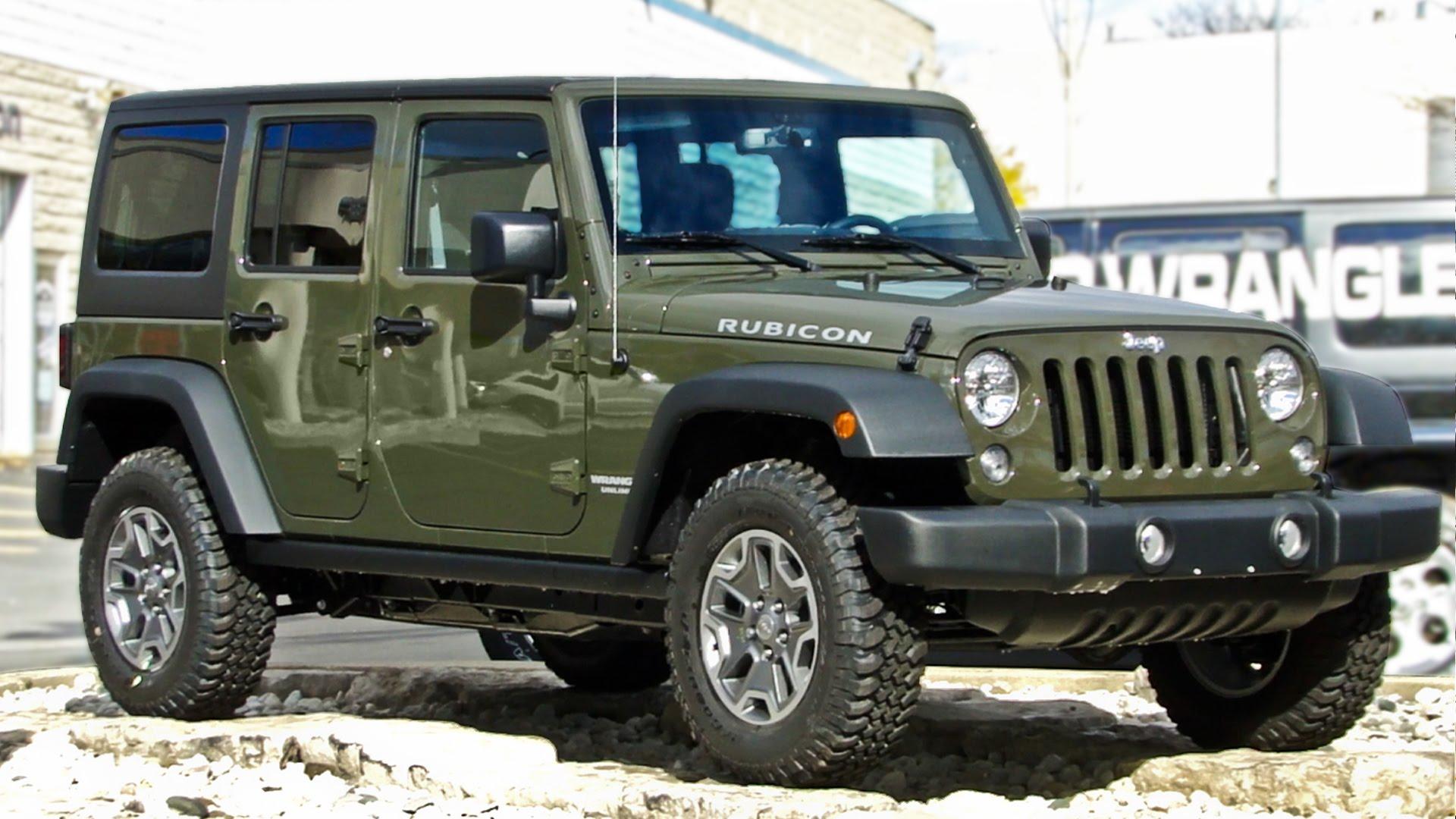 jeep wrangler unlimited 2015 uno de los mejores todoterreno a cualquier precio lista de carros. Black Bedroom Furniture Sets. Home Design Ideas