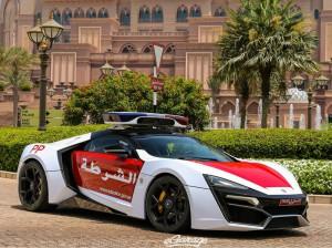 Lykan Hypersport, el nuevo carro de policía de Abu Dhabi.