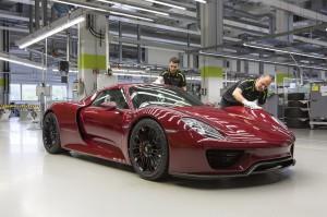 Termina la producción del Porsche 918 Spyder.