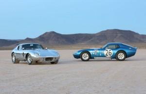Shelby Cobra Daytona Coupé 50th Anniversary, un carro de colección.