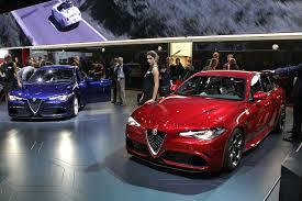 Salón del Automóvil de Frankfurt 2015: Alfa Romeo Giulia QV, rápido, poderoso y sorprendente.