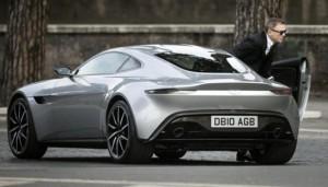 Aston Martin DB9 GT Bond Edition, un auto súper exclusivo para los aficionados del súper espía.