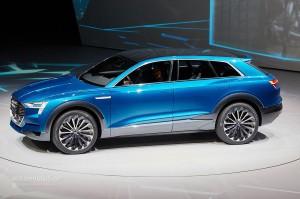 Salón del Automóvil de Frankfurt 2015: Audi quattro e-tron Concept, un eléctrico eficiente y deportivo.