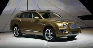Salón de Frankfurt 2015: Bentley Bentayga, lujoso, elegante, rápido y poderoso.