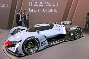 Salón de Frankfurt 2015: Hyundai N 2025 Visión Gran Turismo.