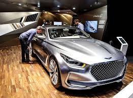 Salón del Automóvil de Frankfurt 2015: Hyundai Vision G Coupé concept.