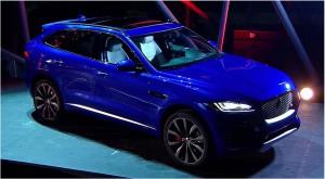 Salón de Frankfurt 2015: Jaguar F-Pace, la primer SUV del fabricante británico.