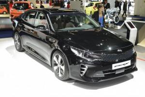 Salón del Automóvil de Frankfurt 2015: Kia Optima GT Concept, un sedán deportivo.