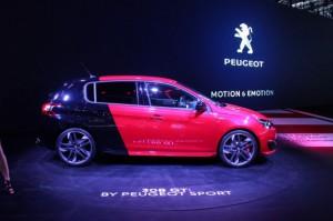 Salón del Automóvil de Frankfurt 2015: Peugeot 308 GTI, con 270CV.
