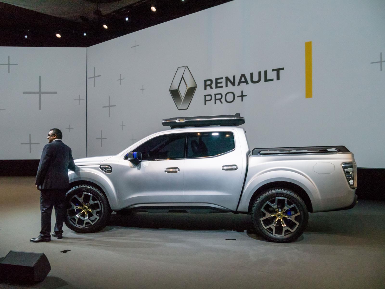 Renault Alaskan Concept, una camioneta global. | Lista de ...