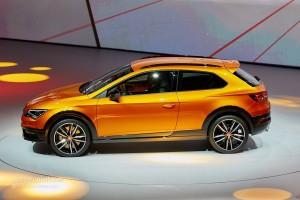 Salón del Automóvil de Frankfurt 2015: Seat León Cross Sport concept, Un León más aventurero.