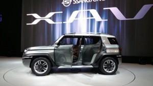 Salón del Automóvil de Frankfurt 2015: SsangYong XAV-Adventure Concept