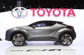 Salón del Automóvil de Frankfurt 2015: Toyota C-HR Hybrid Concept.