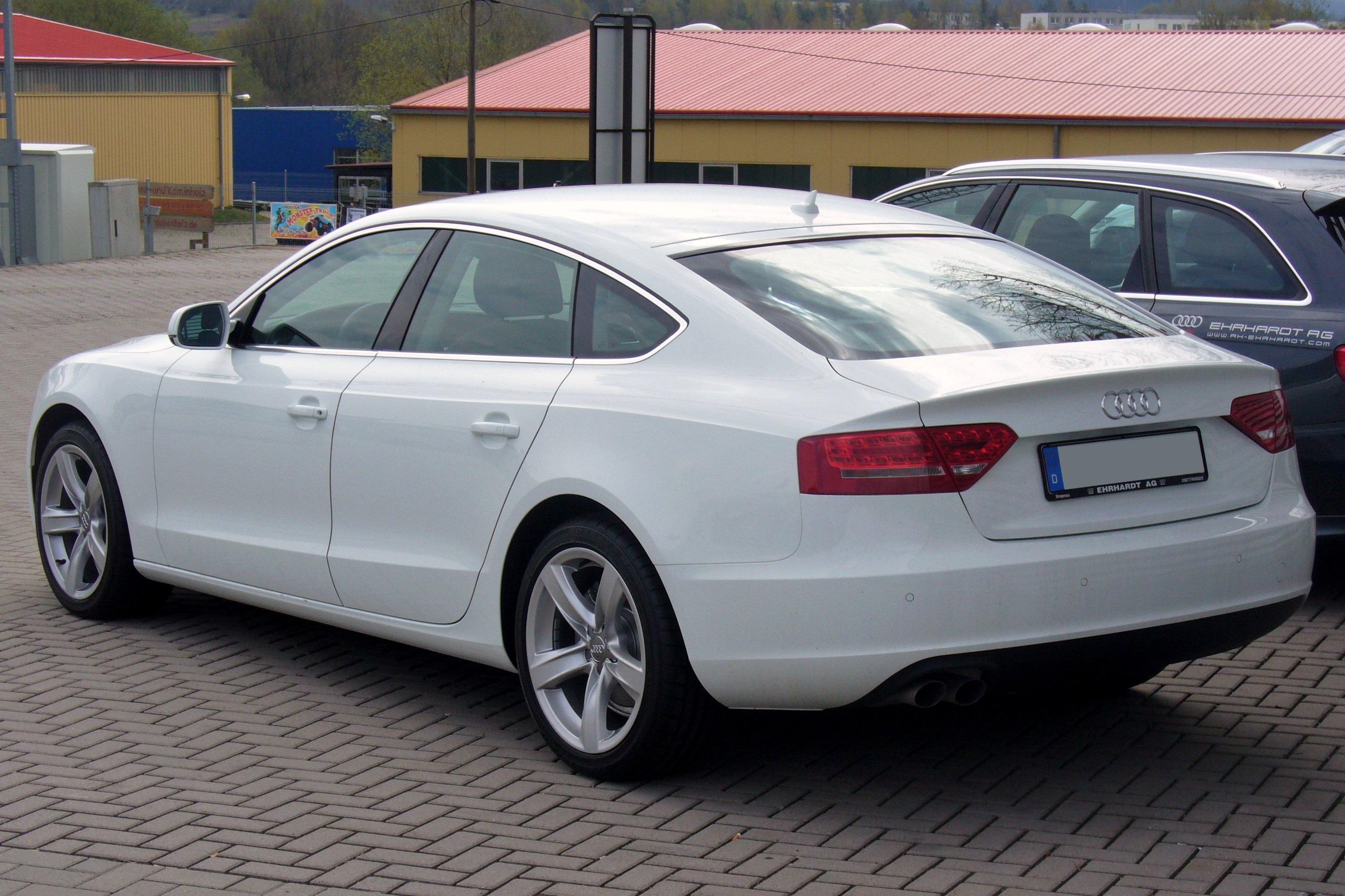 Audi a5 sportback 20 tfsi quattro 2011