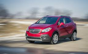 Buick Encore 2015: lujo y confort total.