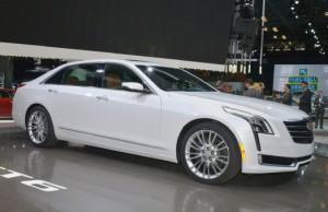 Cadillac CT6 2016: lujo de alta calidad.