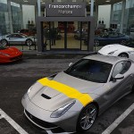 Ferrari F12 tdf: El propulsor encargado de moverle es el mismo V12 del F12 Berlinetta, pero potenciado hasta los 780CV, algo que le permite acelerar de 0 a 100 km/h en 2,9 segundos y de 0 a 200 en 7,9. A ello ayudan, sin duda, un aumento en el 87% de la carga aerodinámica respecto al F12 Berlinetta, el uso de fibra de carbono –reduce su peso en 110 kg.- y un rediseño de la carrocería, la transmisión, la caja de cambios, el habitáculo y el motor.