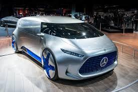 Salón de Tokio 2015: Mercedes Benz Vision Tokyo Concept, una Minivan demasiado futurista.