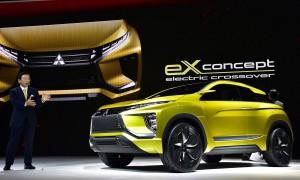 Salón de Tokio 2015: Mitsubishi eX Concept, un todoterreno eléctrico