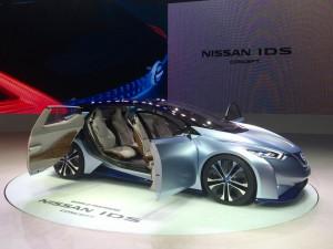 Salón de Tokio 2015: Nissan IDS Concept, un futurista auto eléctrico y autónomo.