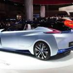 Nissan IDS Concept: Un ejemplo claro de la alta aerodinámica que ofrece este IDS Concept es la altura de sólo 1.380 mm, esto es 87mm menos que el BMW i8.