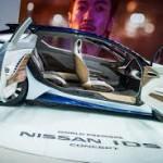 Nissan IDS Concept: El accionamiento del Nissan IDS Concept proviene de un sistema eléctrico que le permite una autonomía aproximada de 600 km. Esa sobresaliente cifra se debe a la aerodinámica, baja altura, ligereza y a la batería de 60 kW/h.