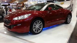 Peugeot RCZ 2015: potente, exclusivo y agresivo.