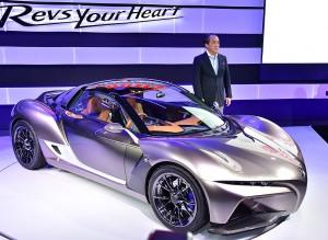 Salón de Tokio 2015: Yamaha Sports Ride Concept, un biplaza de 750 kilos.
