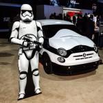 FIAT 500e Stormtrooper, en honor a Star Wars