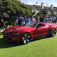 Galpin Ford Rocket Speedster Concept: un Mustang GT Convertible modificado radicalmente