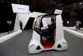 Auto Show de Tokio 2015: Honda Wander Stand Concept, ideal para turistas.