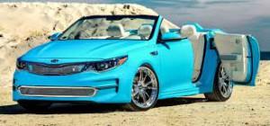 Kia A1A Optima Concept, un Optima Convertible inspirado en La Florida.