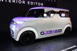 Auto Show de Tokio 2015: Nissan Teatro For Dayz concept, un auto-Smartphone