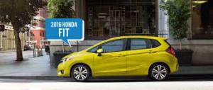 Honda Fit 2016: el auto de mayor economía de combustible de su segmento.