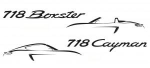 Porsche 718 Cayman y 718 Boxster: así se llamarán en 2016.