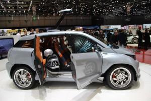 Rinspeed Budii Concept, la conducción autónoma cada vez más cerca.
