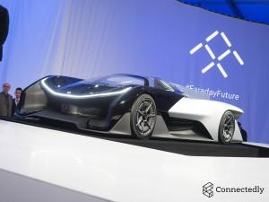 CES 2016: Faraday Future FFZERO1 Concept, un auto eléctrico con 1000CV.