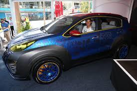 Kia Sportage X-Car,  inspirado en la película X-Men: Apocalypse
