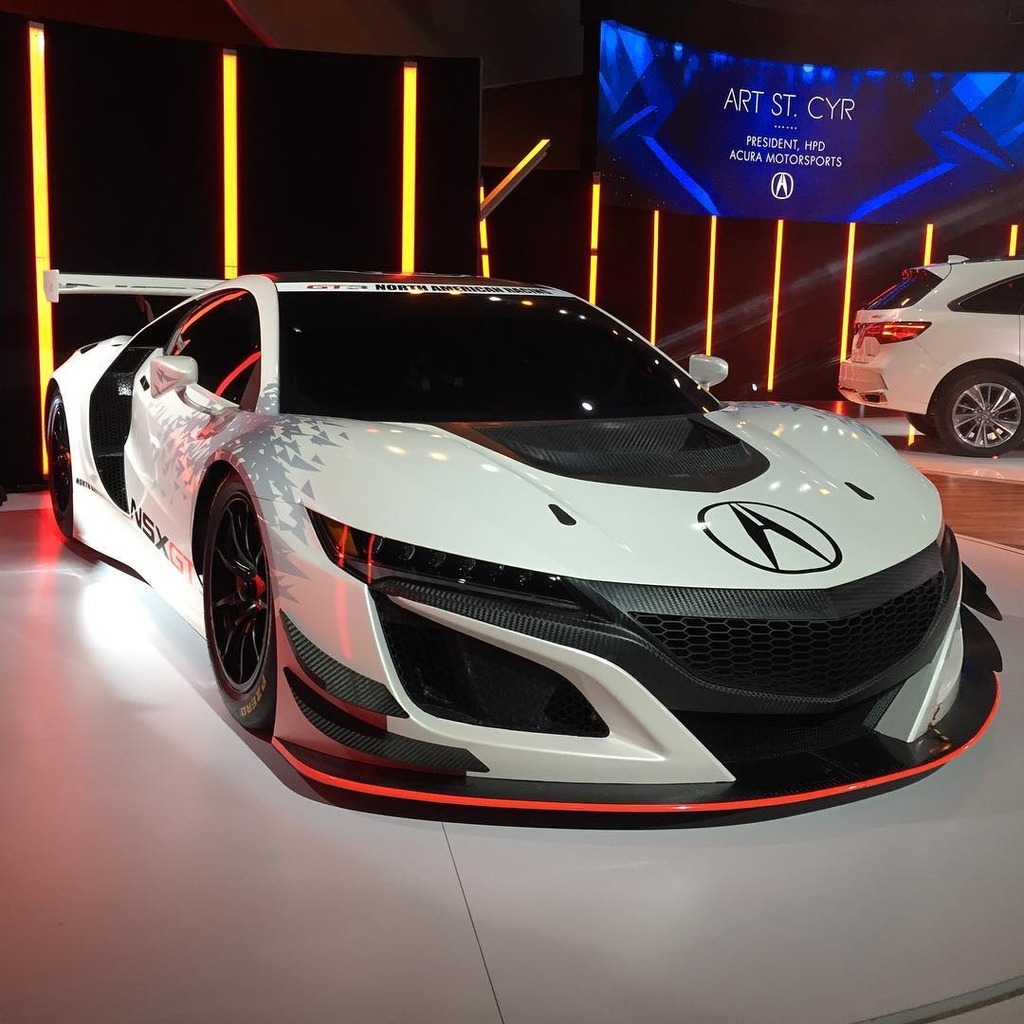 Auto Show De Nueva York 2016: Acura NSX GT3, Listo Para