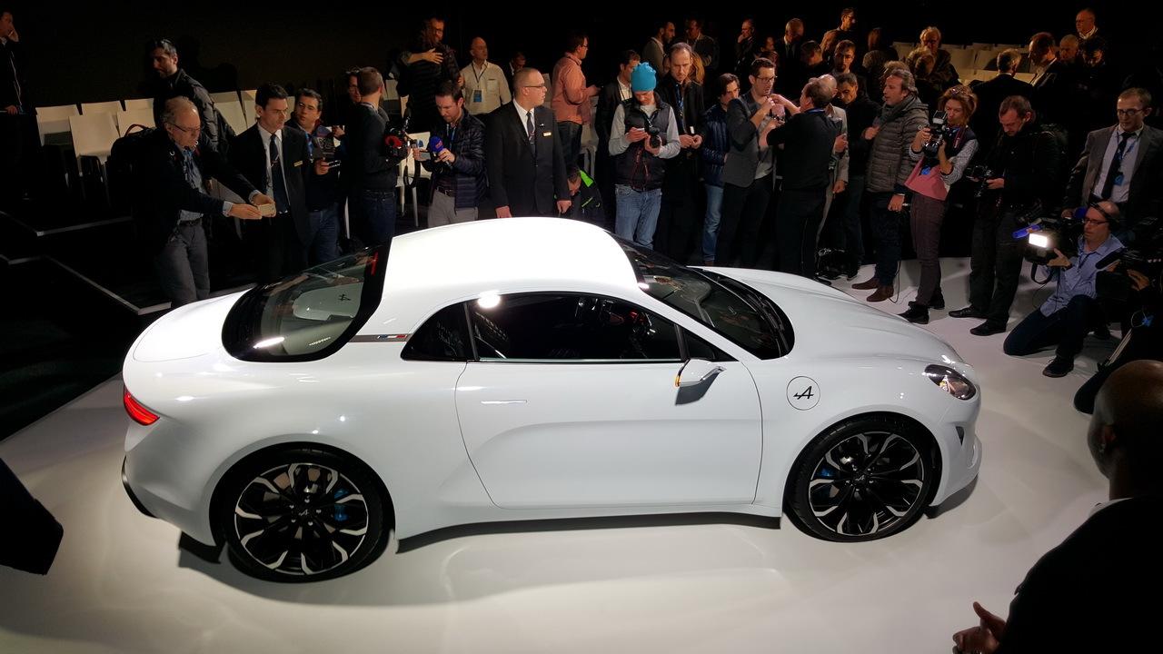 renault alpine vision concept un deportivo para el d a a d a lista de carros. Black Bedroom Furniture Sets. Home Design Ideas